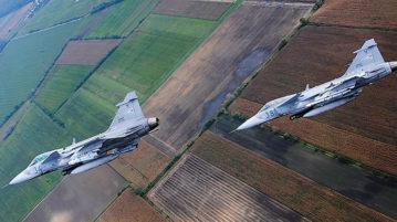 HuAF Gripen's Aerial Footage: Behind The Scenes - Digilogues